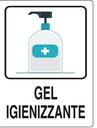 Distribuzione gel igienizzante
