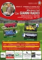 Memorial Cav. Radici - Torneo di Calcio