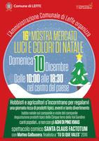 """Mostra Mercato """"Luci e colori di Natale"""""""
