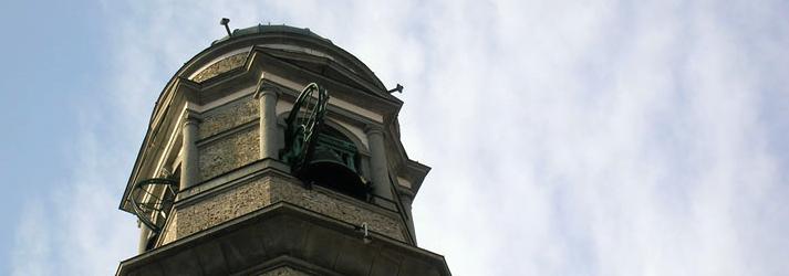 Dettaglio campanile